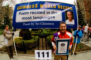 He's done it again! Congratulations, Ashrita, on a new and very special Guinness World Record!