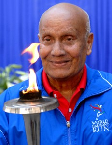 Sri Chinmoy inducted into the IMSHoF