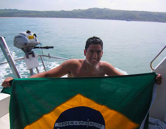 Adriano Passini – our team`s new English Channel swimmer!